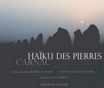 couverture : Haïku des pierres