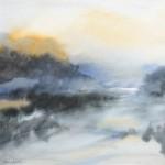 Aquarelle, paysage